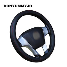 DONYUMMYJO CAR STEERING WHEEL COVER MULTI CHOICE SIZE M DIAMETER 38CM AUTOMOTIVE INTERIOR ACCESSORIES For KIA HYUNDAI TOYOTA