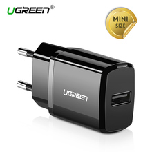 Ugreen 5V 2.1A USB Charger iPhone X 8 7 iPad Fast Wall Charger EU Adapter Samsung S9 Xiaomi Mi 8 Mobile Phone Charger