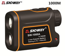 Buy SNDWAY 1000M Laser Range Finder Scope Meter Speed Measurer Monocular Rangefinder 8x Distance Outdoor Sports Monocular for $89.99 in AliExpress store