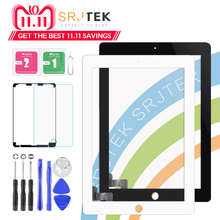 "9.7 ""Digitzer Voor iPad 2 Touch iPad2 A1395 A1396 A1397 Touch Screen Digitizer Sensor Glas Panel geen Home-Knop gratis Frame Bezel(China)"