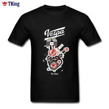 Vespa T Shirt New York Art Design Tshirt Couple Short Sleeve Thanksgiving Day 3XL Tees Shirts