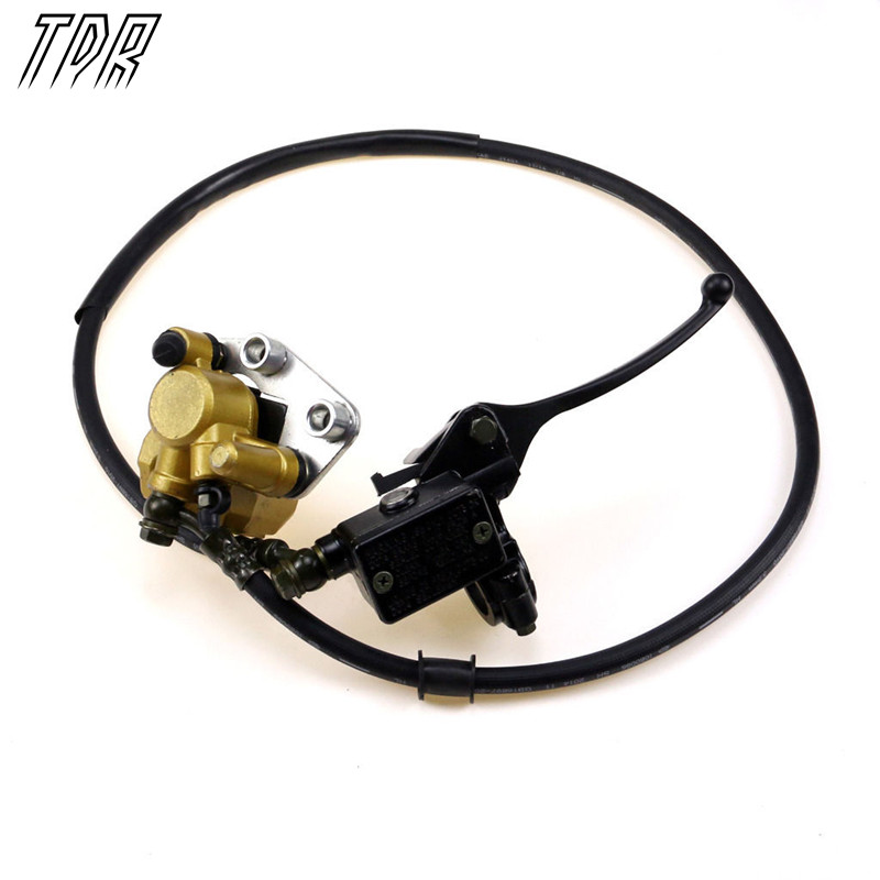 TDR Motorcycle Parts Hydraulic Disc Brake Calipers Pad System 125cc Quad Dirt Bike Dune Buggy for Go Kart HHY<br>
