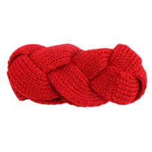 Freeshipping Women's Thick Braided Crochet Twist Knit Ear Warmer Hair Band Winter Head Wrap Hair Accessories 8colors
