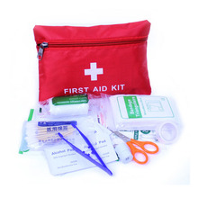 Outdoor first aid kit portable outdoor mountaineering travel field supplies self-defense earthquake emergency kits medical kits(China)