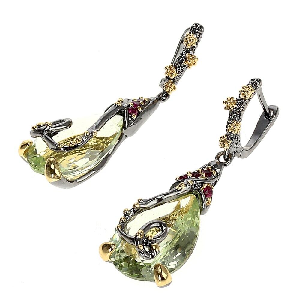 WE3876 vintage zirconia earrings drop earings gothic jewelry (2)