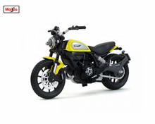 MAISTO 1:18 Ducati Scrambler MOTORCYCLE BIKE DIECAST MODEL TOY NEW IN BOX Free Shipping