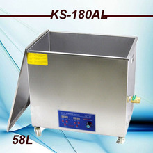 High Quality big size 58L High Power Industrial  Ultrasonic Cleaner  110v/220v for big parts &factory use free basket