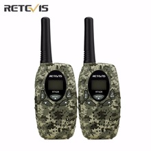 2X License-free Kids Retevis RT628 Mini Walkie Talkie Transceiver Camouflage Frequency 0.5W 8/22CH FRS/GMRS Two Way Radio A1026