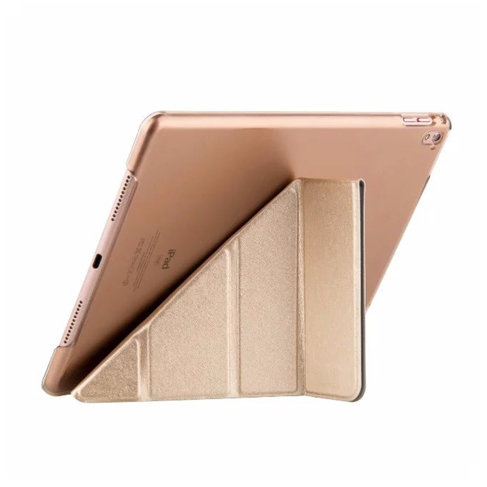 Multi Fold Taiga Angles Stand Smart Cover For iPad Air 2 With Tranparent Back Cover Auto Sleep &amp; Wake up Coque Funda<br><br>Aliexpress