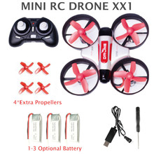 Mini Drone Quadcopter XX1 Headless Mode RC Helicopter VS JJRC H36 2.4G Remote Control Toys For Kids mini dron(China)