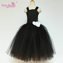 Princess Wedding Bridesmaid Flower Girl Dress Kids Clothes Party Tutu Dresses(China)