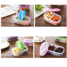 Fresh Fruit Snacks Storage Plastic Kitchen Container Sauce Food Box Crisper