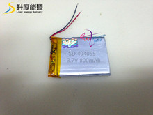 SD404055 Customized lithium iron phosphate battery 404055 800mAh(China)