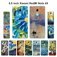 Buy Xiaomi Redmi Note 4X Case Prime Cover Soft Silicone Redmi Note 4X Oil Painted Xiomi Redmi Note4 Shell for $1.37 in AliExpress store