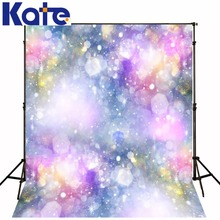 Kate 5*7ft Dream scenery Photography Backdrop colour spot lights Fantastic Color  Fotografia Wedding Background for photo studio