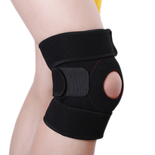 1 Pair Hot Sale Sport Absorb Sweat Knee Pad Elbow Brace Support Lap Protect For Outdoor Basketball volleyball Knee Protector(China)