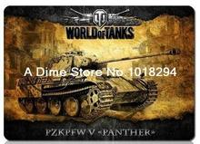 World of tanks mouse pad Yellow tank mousepad laptop mouse pad gear notbook computer gaming mouse pad gamer play mats(China)