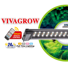 "18"" ODYSSEA VIVAGROW DN50 DayNight RGB LED Aquarium Lighting Freshwater Plants Grow Light 24/7 Remote Automation"