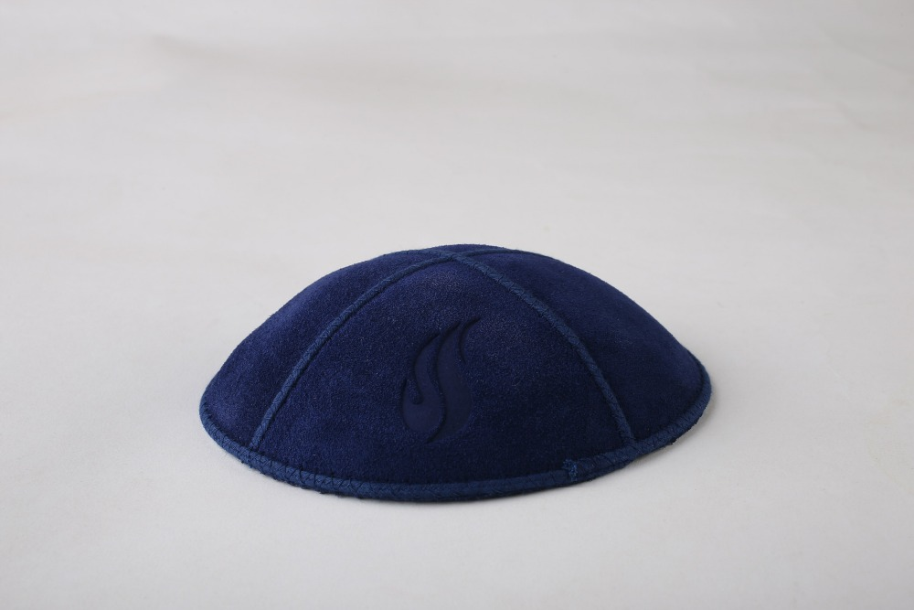 Blue kippa, Flannelette kipa, Judaism kipot,  yarmulke, skull cap Linen jewish hatÎäåæäà è àêñåññóàðû<br><br><br>Aliexpress