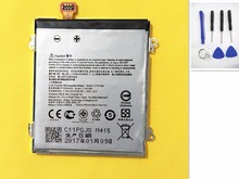 2050mAh Battery For Asus Zenfone 5 A500G A500 A500CG A501CG A500KL Z5 T00J C11P1324  New li Polymer With  Opening Repair Tools