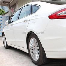 For Ford Fusion Contour 2013 2014 2015 ABS Plastic Auto Parts Mud Flaps Splash Guard Cover Mudguard Car Fenders Splasher Mudflap