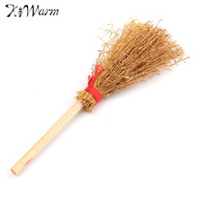 Modern 1Pcs Miniature House Besom 1/12 Scale Furniture Figurines Ornaments Gadget Doll house Decor for Decorative Craft Kids Toy