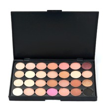 Professional 28 Color Nude Eye shadow Palette Makeup Cosmetic Beauty Set 2 Patterns For Choose(China)