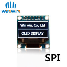 "1pcs 0.96"" white New 128X64 OLED LCD LED Display Module 0.96"" SPI Communicate(China)"