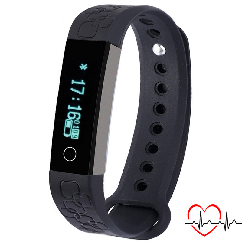 New Sports Smart Bracelet Watch For Android for Apple Alarm Heart Rate Monitor wrist band Bluetooth Sleep Monitor Digital Watch<br><br>Aliexpress