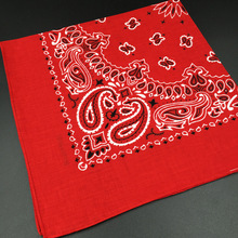 2016 Cotton Bandana Scarf Square Head Scarf Women Men Fashion Bicycle Bandana Motorcycle Female Bandanas Headwear Scarves Hijab