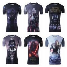Buy Star Wars Tshirts 2017 New Camisetas Hombre Novelty Men T-Shirt 3D Print shirt Tops O-Neck Short Sleeve Male Funny Tees T Shirt for $7.27 in AliExpress store