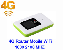 Unlocked Mini 4G WIFI LTE Router Mobile WiFi Hotspot 3G 4G WiFi Router SIM Card Slot FDD 1800 2100 MHZ LTE EDGE HSPA GPRS GSM(China)