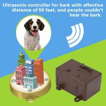 Ultrasonic Stop Control Dogs Barking Anti No Bark Device Silencer Pets Outdoor Anti Barking Stop Bark(China)