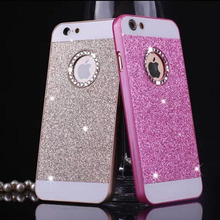 Hot Sale Luxury Diamond bling case for iPhone 6 6S 5 5S SE wonderful colors hard plastic back cover phone case for iphone6