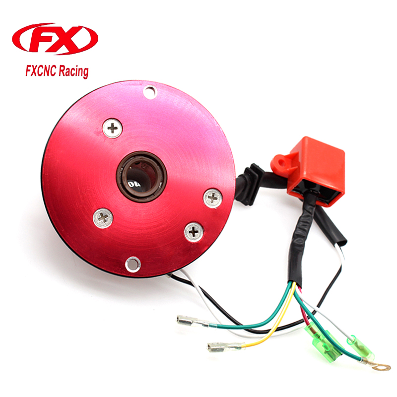 12V High Performance Adjustable Motorcycle Pit Bike Ignition Inner Rotor CDI Scooter Parts Kit For CRF50 CRF 50 XR XR50 70 Z(China)