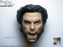 NEW 1/6 figure toys head X-Men Origins Wolverine 1/6 head sculpt and Muscular body in stock(China)