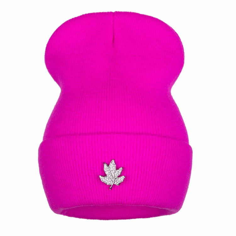 Ralferty Casual Crystal Leaf Beanie Winter Hats For Women Skullies Caps Female Chapeu Toca bonne gorras bonnet Cap Men Snowboard 12