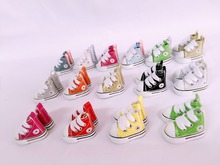 Blyth doll shoes 3.8cm fabric &leathe shoes(China)