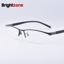 2016 Fashion High Quality Style Reading Glasse New Presbyopic Half Rim Single Vision Spectacles For Men Hyperopia
