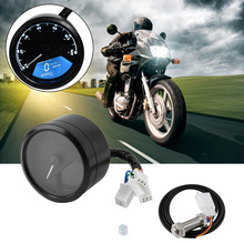 Newest 12000RPM Digital Tachometer Speedometer Odometer with LCD Display for Motorcycle Motorbike Hot Selling(China)