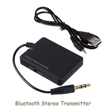 Wireless Bluetooth Audio Transmitter A2DP 3.5mm Stereo HiFi Adapter Dongle