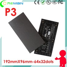 led factory Special price p3 led video wall module rgb smd / p3 led panel module full color / p3 led billboard module(China)