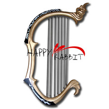 Dynasty Warriors 6 Cai Wenji's Harp Cosplay Prop-0089