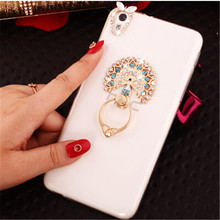 New 3D swan Love bling Crystal diamond Stand Cell Phone Shell back Skin cover hard case For HTC Desire 530 / 630
