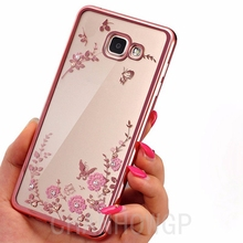 Luxury Flower Soft Silicone Case for Samsung Galaxy A3 A5 2017 J3 J5 J7 2016 Grand Core Prime S3 S4 S5 S6 S7 Edge S8 Plus Cover