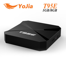 10pcs Rockchip RK3229 T95E Quad-Core Andorid 6.0 TV BOX 1GB/2GB 8GB 2.4GHz WiFi Google Play Pre-installed Media Player IPTV Box(China)