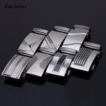 Faroonee Men's Fashion Belt Buckle Zinc Alloy Stainless Steel Metal Belt Joint High Quality Leather Belt Parts Accessories S438