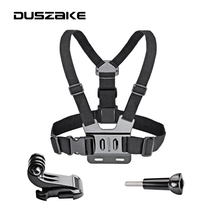 Chest Strap Mount For Gopro hero 6 5 Chest Mount For Xiaomi Yi 4K Chest Harness Belt For Go Pro For SJCAM Action Camera(China)