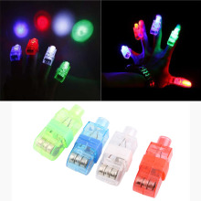 SDFC 4PCS LED Laser Finger Lights Up Beam Lamps Party Torch Wave Glow Ring Popular New