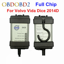 Multi-Function Diagnostic Tool For Volvo Vida Dice Pro Newest 2014D With Multi-language Full Chip Green PCB For Volvo Dice Vida